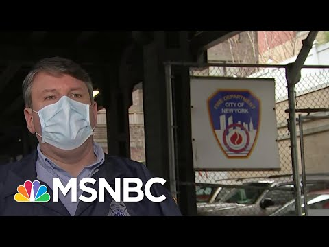 First Responders Face Challenges As Emergency Call Volume Increases Over 50% | Craig Melvin | MSNBC