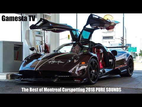 The Best Of The Super Cars Of Montreal 2018 [PURE SOUNDS]
