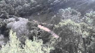 preview picture of video '200 mts de tirolina en el Parque Natural Sierra Espadán. Eslida, Castellón'