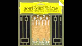 BEETHOVEN: Symphony No. 8 in F major op. 93 / Abbado · Wiener Philharmoniker