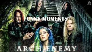 Arch Enemy Funny Moments