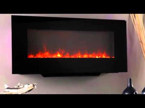 SimpliFire Linear Wall Mount Electric Fireplace