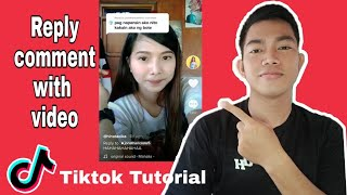 How to reply a comment on tiktok with a video   Tiktok Tutorial 2020   Tagalog