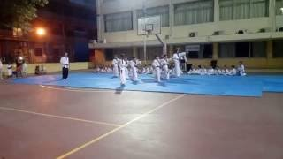 Επίδειξη Taek Won Do - Hapkido του Αθλητικού Συλλόγου  Kyung Hee Athens