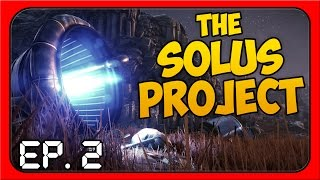 The Solus Project ➤ MASSIVE TORNADO, ALIEN EGGS,  & SKETCHY CAVE! [Let's Play The Solus Project]