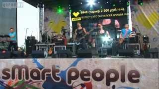 """Litesound, Выступление группы """" LITESOUND"""" в Могилёве. 3 июля 2012 года"""