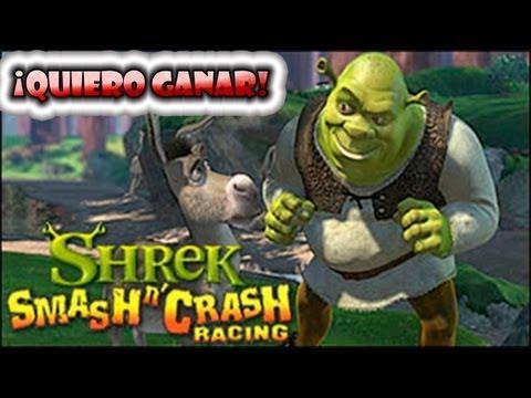 Shrek Smash n' Crash Racing PSP