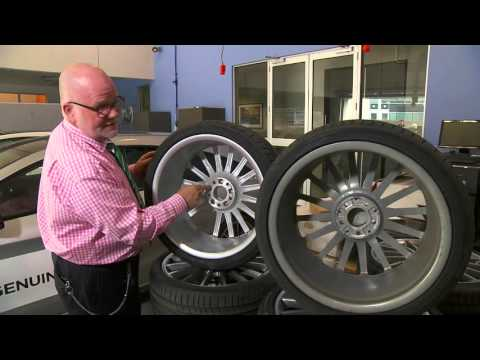 Mercedes-Benz Wheel Test