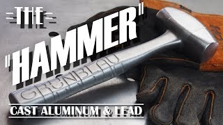 THE HAMMER   Cast Aluminum and Lead from 3D Printed Patterns - Video Youtube