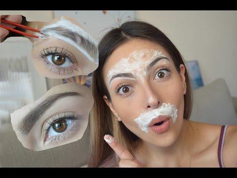 Como depilar la ceja y el bigote en casa | Anna Sarelly