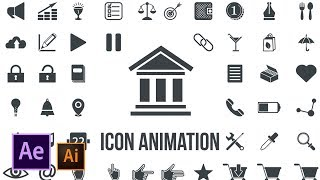 Icon Design And Animation   Illustrator To After Effects Tutorial