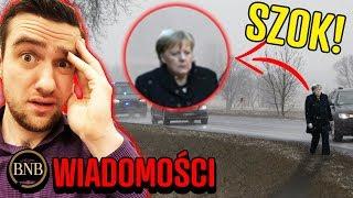 Polski kierowca WYRZUCIŁ Merkel z limuzyny! Zaszło nieporozumienie | WIADOMOŚCI