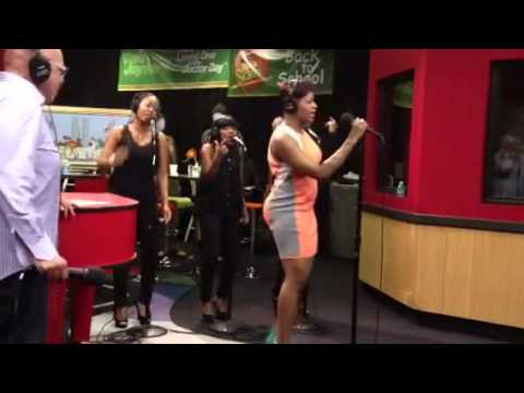 Fantasia performs When I See You on the Tom Joyner Morning Show