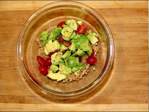 Microwave Brown Rice Bowl