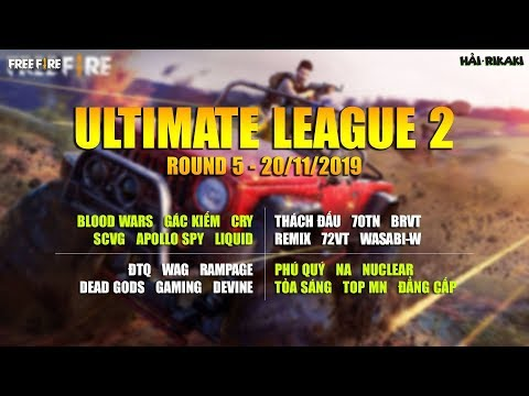 FREE FIRE   ULTIMATE LEAGUE 2 - VÒNG 5   GIFTCODE   RIKAKI GAMING