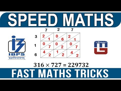FAST MATHS TRICK | SPEED MATHS | ALL COMPETITIVE EXAMS ...