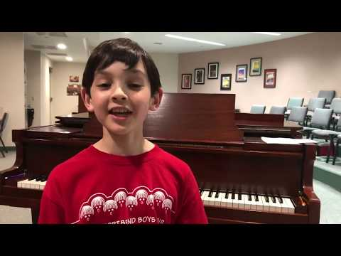 Fort Bend Boys Choir Recruitment Video – # 5