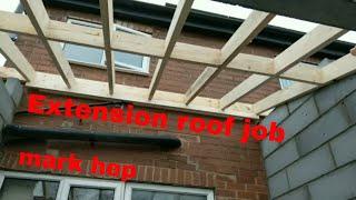 Kitchen Extension Roof Work And A Broken Van