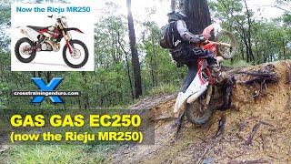 GAS GAS EC250 2019 REVIEW Cross Training Enduro