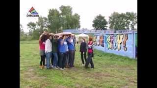 В Даугавпилсе открылась первая галерея граффити