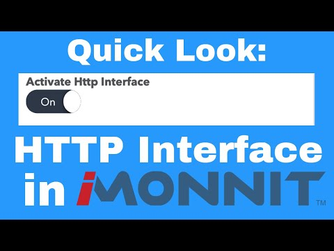 HTTP interface in iMonnit