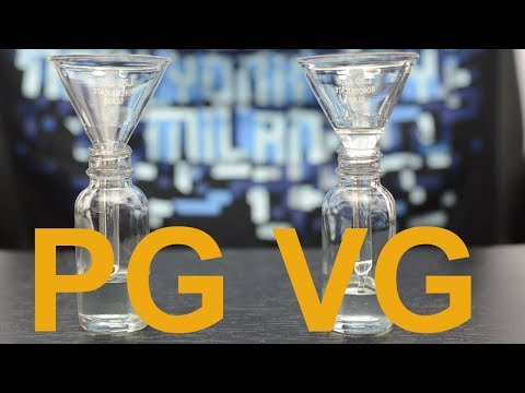 Difference PG vs VG Ejuice? Safe? Side Effects?