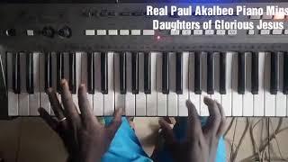 Daughters Of Glorious Jesus  Wo Ntaban (Piano Reggae Chords)