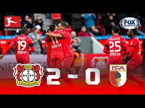 TERCEIRA VITÓRIA SEGUIDA! Melhores momentos de Bayer Leverkusen 2 x 0 Augsburg pela Bundesliga