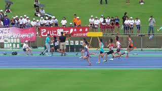 2018年度全中通信陸上兵庫県大会2年男子100m準決勝まとめ