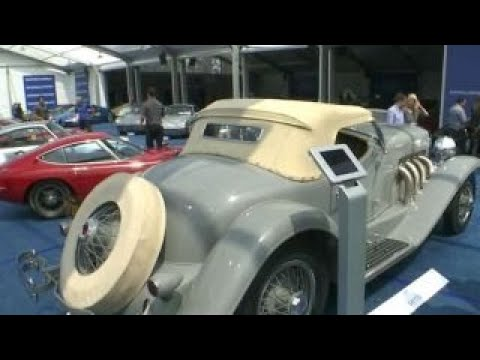 Classic Cars Go For Multi-million Dollars At The Concours D'Elegance Auction