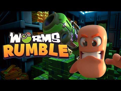 Worms Rumble Battlegrounds Bank Trailer