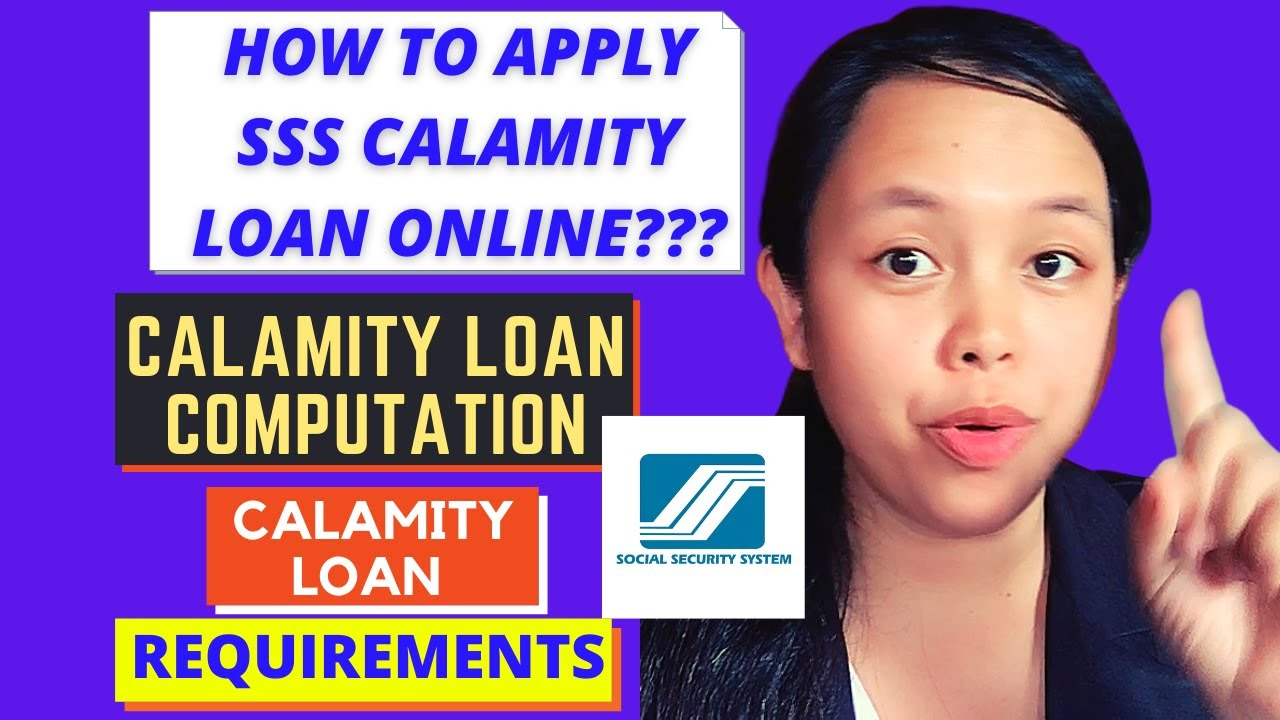 HOW TO LOOK FOR SSS CATASTROPHE LOAN ONLINE, REQUIREMENTS AND CALCULATIONS|MAE CAN thumbnail