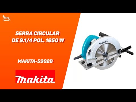 Serra Circular de 9.1/4 Pol. 1650 W  - Video