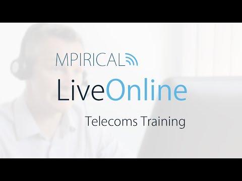 Mpirical LiveOnline Telecommunication Courses & Training - YouTube