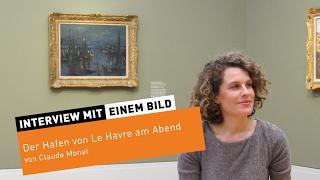 """Le Havre am Abend"" von Claude Monet"