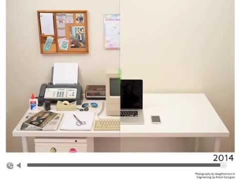 Evolución De Nuestra Mesa De Trabajo