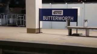 preview picture of video 'Butterworth, Malaysia KTMB Train Station'