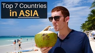 Top 7 Countries in Asia! – Drew Binsky – 2018