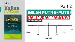Mengenal Putra-Putri Nabi Muhammad
