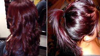 बालों को पार्लर जैसा Burgundy Color करे सिर्फ Rs 10 में घर बैठे -100% Natural Burgundy & Brown Color