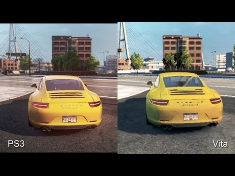 Need for Speed: Most Wanted – srovnání PS3 a Vita verze