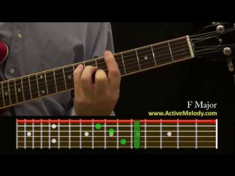 How To Play an F Chord On The Guitar (F Major)