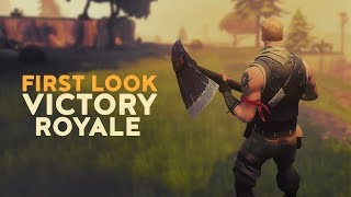 First Look   Victory Royale! (Fortnite Battle Royale)