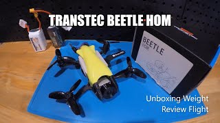 TransTEC Beetle HOM HD (DJI FPV) Best 2.5in Quad ever? Unboxing, weight, review, Flight... AMAZING!!
