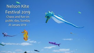 Nelson Kite Festival 2019   Chaos And Fun On Sunday