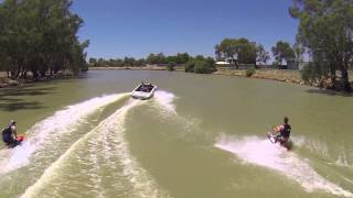 preview picture of video 'Skiing 2014 Australia Day Forbes Aquatic Centre v1 1'