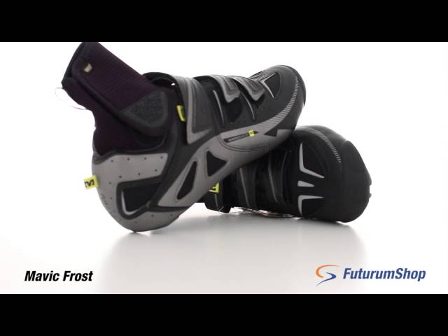 Видео Велотуфли Mavic Frost черно-серебристые