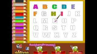 Abc Coloring Pages - Alphabet Coloring Pages For Kids