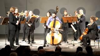 Lars-Erik Larsson Concertino op.45 für Kontrabass und Streichorchester, gespielt von Benedikt Hübner