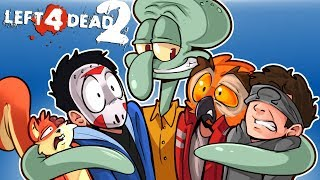 Left 4 Dead 2 - PART 2 of Real Titanic Story! (Spongebob Mods) With Vanoss, Ohm & Squirrel!